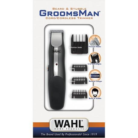 Máquina Barba e Bigode sem Fio WAHL Groomsman Beard & Stubble
