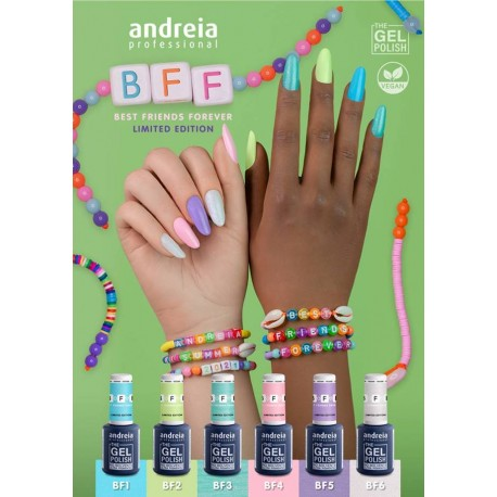 The Gel Polish Andreia Coleção BFF Best Friends Forever