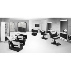 Mobiliário Barbearia Retro