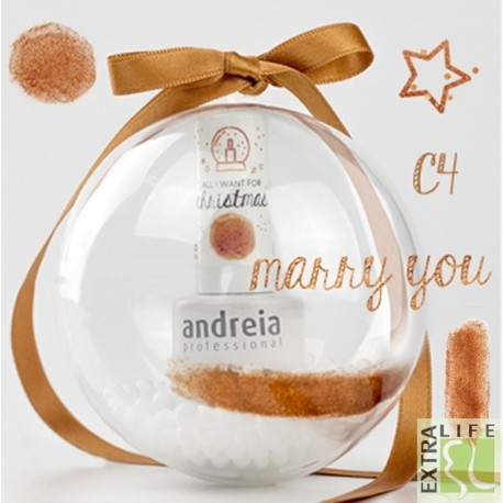 Verniz Gel Andreia C4 Marry You Christmas Collection