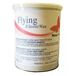 Cera Depilação Rosa Flying Elastic Wax 800ml