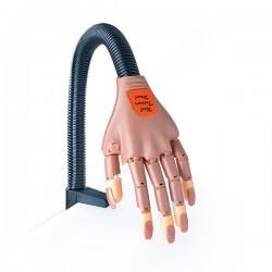 Mão Treino Articulada Unhas Nail Art