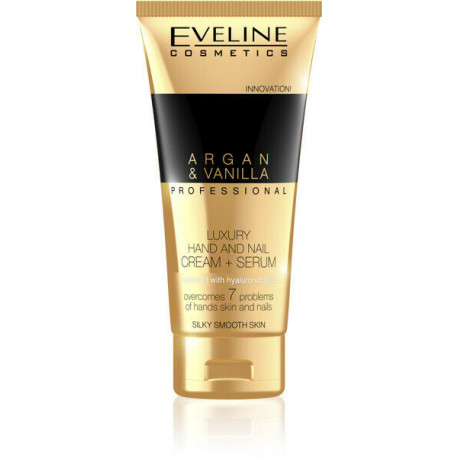 Creme Mãos Eveline Argan & Vanilla Luxury 100ml