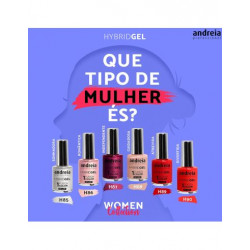 Coleção Hybrid Gel Women Collection Andreia