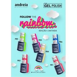 The Gel Polish Andreia Coleção Rainbow