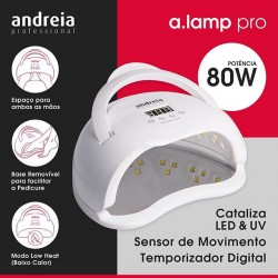 Catalisador Digital A.Lamp Led & Uv Andreia