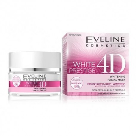 Mascara Facial Despigmentante White Prestige 4D Eveline 50ml